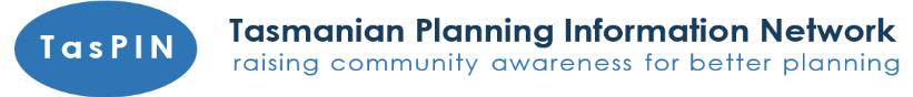 Tasmanian Planning Information Network